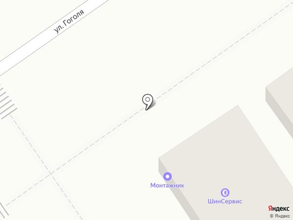 Монтажник на карте Анапы
