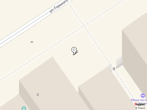 Розовый фламинго на карте Анапы