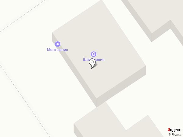 Шиномонтажная мастерская на карте Анапы