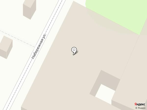 Нафаня на карте Анапы