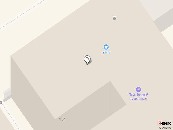 SAPPORO на карте Анапы