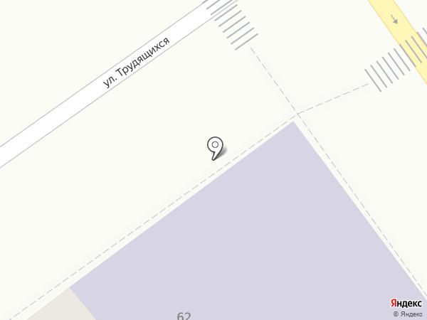 Вечерняя общеобразовательная школа №30 на карте Анапы