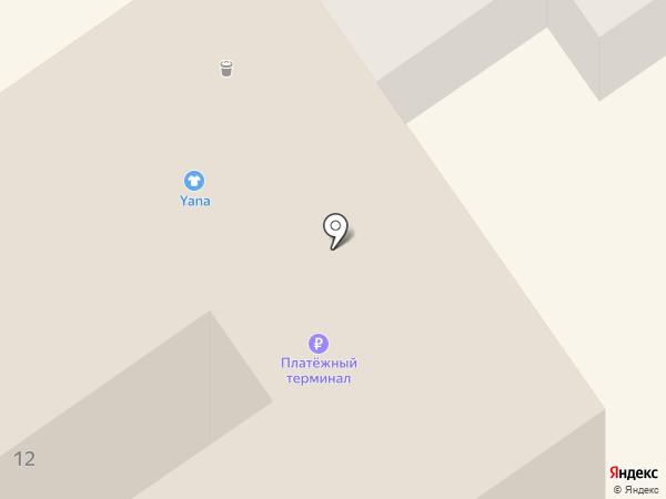 Дамочка на карте Анапы