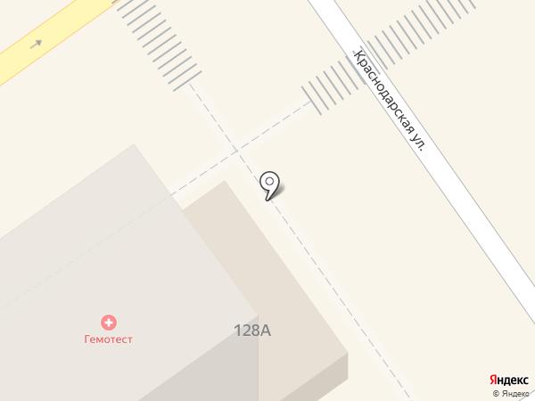 Благо Франчайз на карте Анапы