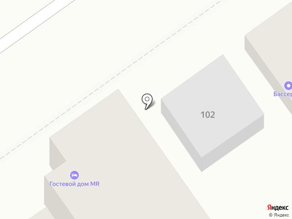 MR на карте Анапы
