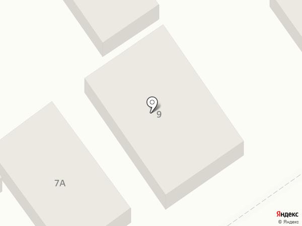 Библиотека №8 на карте Анапы