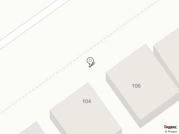 Старый боцман на карте Анапы