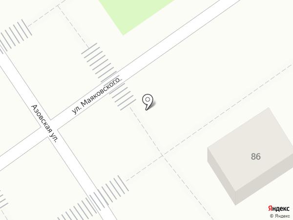 Нектарин на карте Анапы