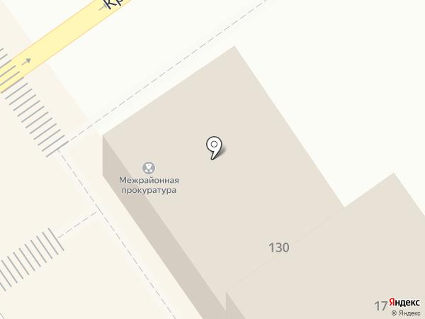 Анапская межрайонная прокуратура на карте Анапы