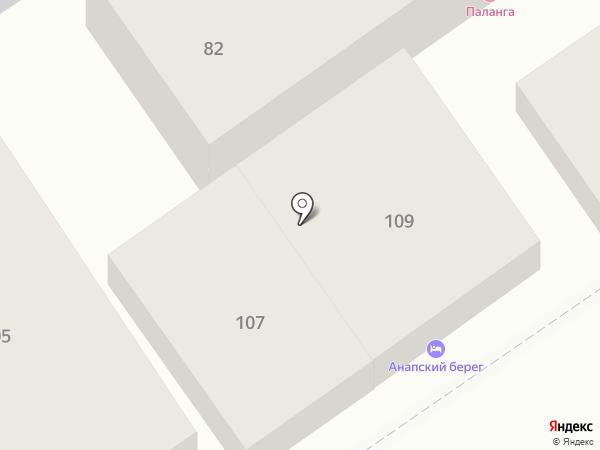 Elegante на карте Анапы