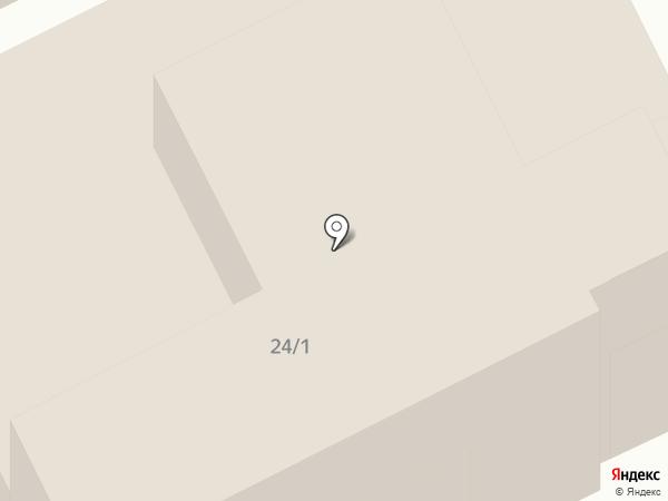 Ласточка на карте Анапы