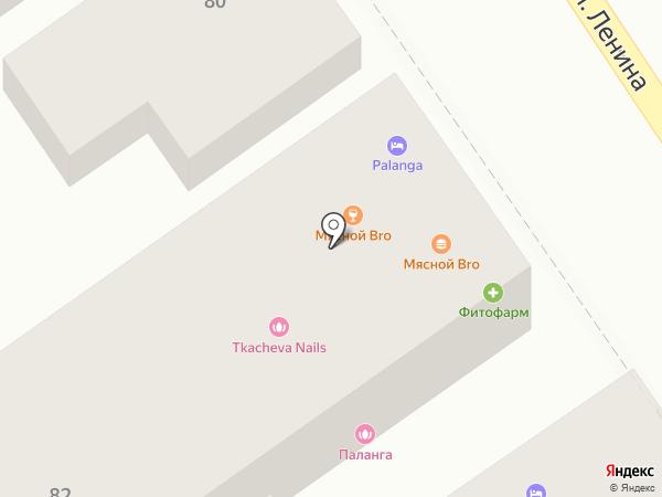 Паланга на карте Анапы