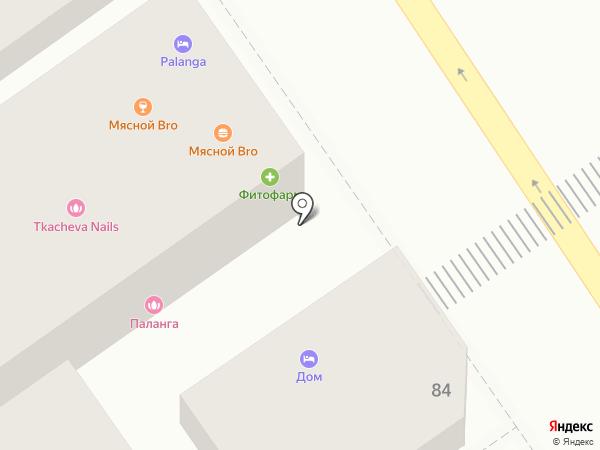 Салон де Парле на карте Анапы