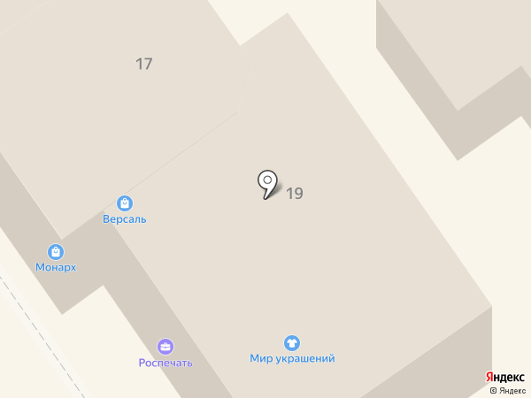 АиБ на карте Анапы