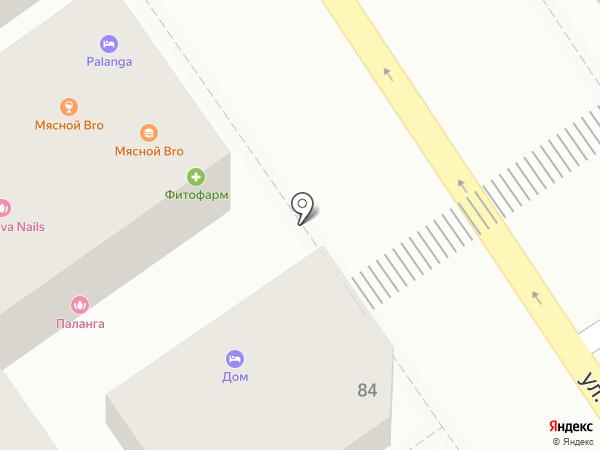 Суши Namе на карте Анапы