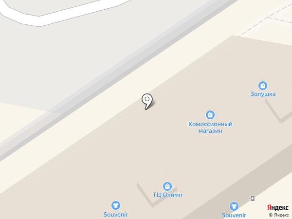 Место под солнцем на карте Анапы