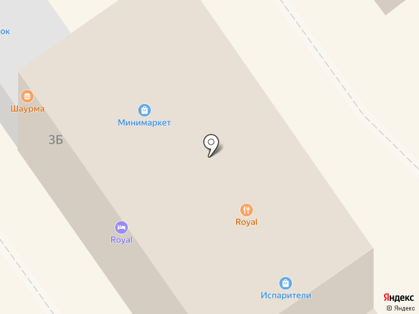 Royal Hotel на карте Анапы