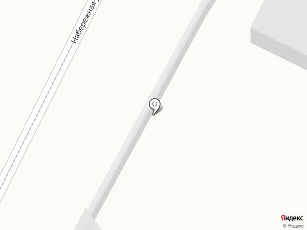 Рекс на карте Анапы