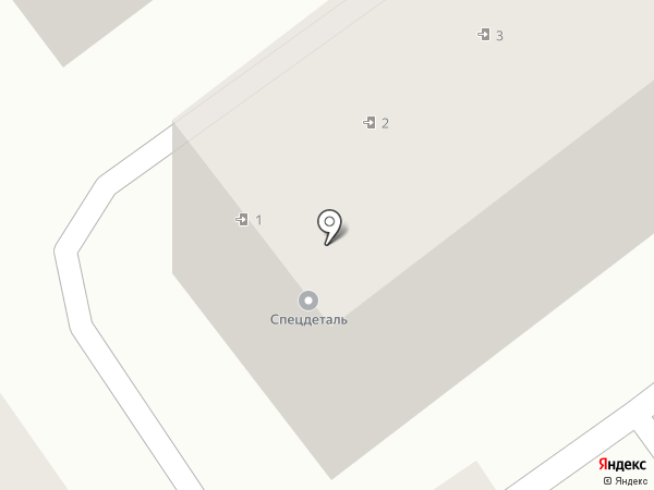 СпецДеталь на карте Анапы