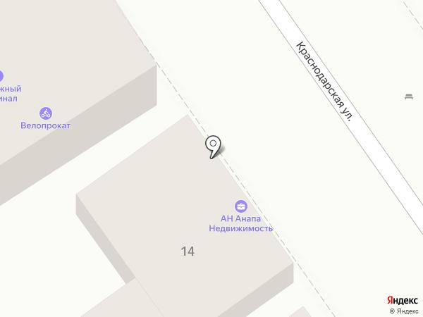 Дебют на карте Анапы