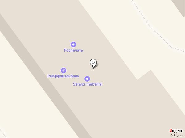 Анапа на карте Анапы