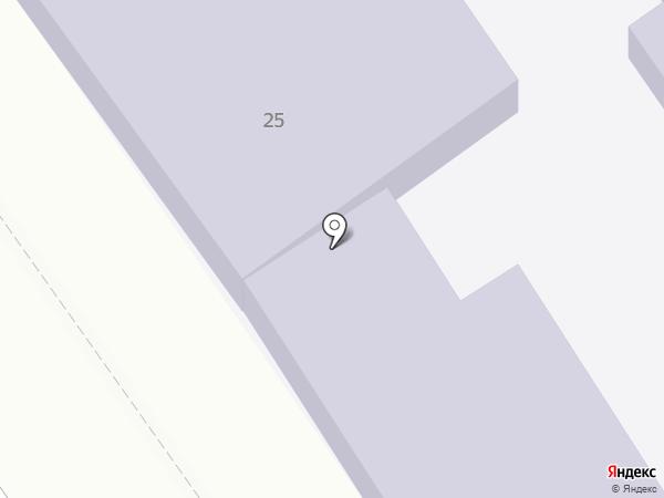 Анапский колледж сферы услуг на карте Анапы