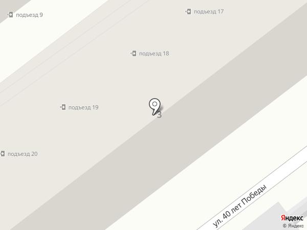 Анапажилстрой на карте Анапы