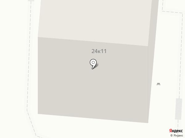Новосходненский на карте Химок
