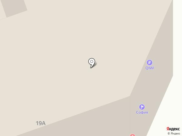 София на карте Анапы