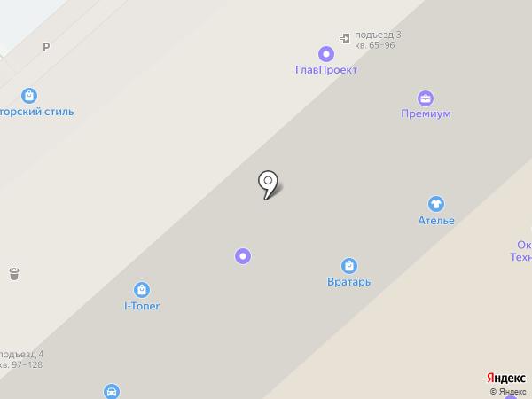 Эксист на карте Красногорска
