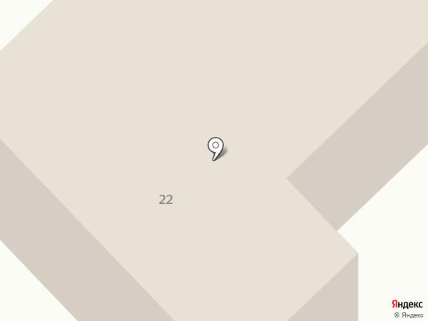 Буревестник на карте Анапы