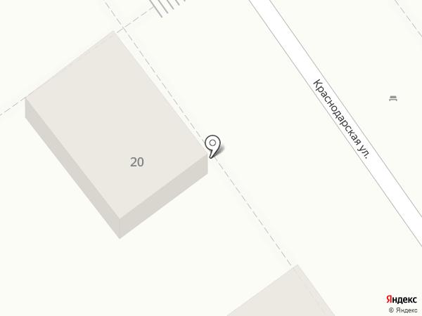 Москвичка на карте Анапы