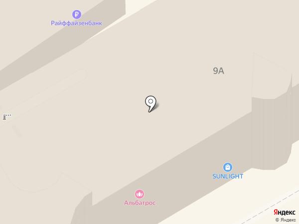 Альбатрос на карте Анапы