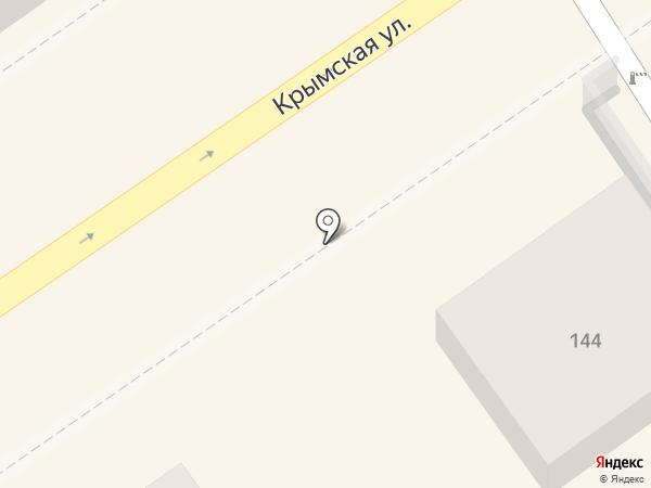 Магазин трикотажной одежды на карте Анапы