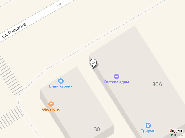 Улитка на карте Анапы