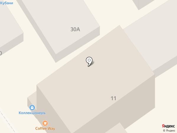 Богема на карте Анапы