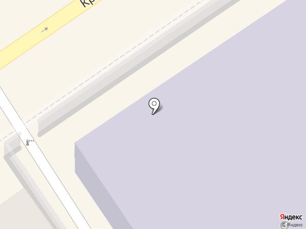 Детский сад №2, Орлёнок на карте Анапы