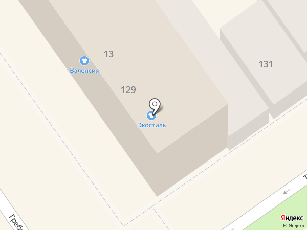 Экостиль на карте Анапы