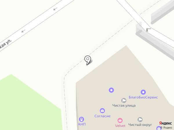 Христов на карте Анапы