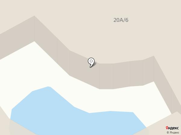 Балу на карте Анапы