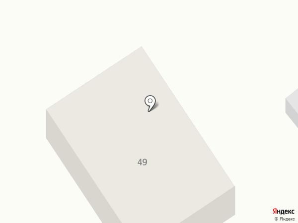Аврора на карте Анапы
