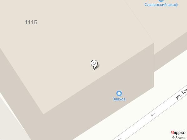 Галерея на карте Анапы
