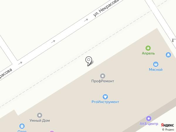 Векка на карте Анапы
