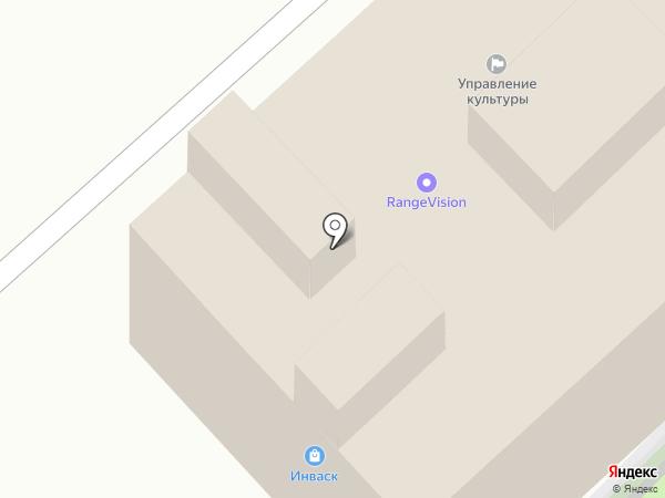Invask на карте Красногорска