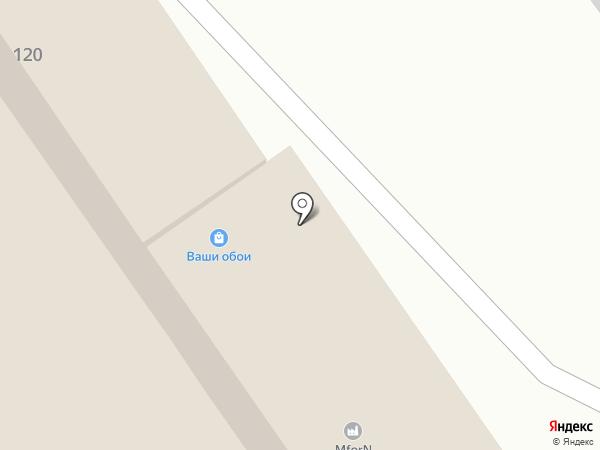 Понтос-море дверей на карте Анапы