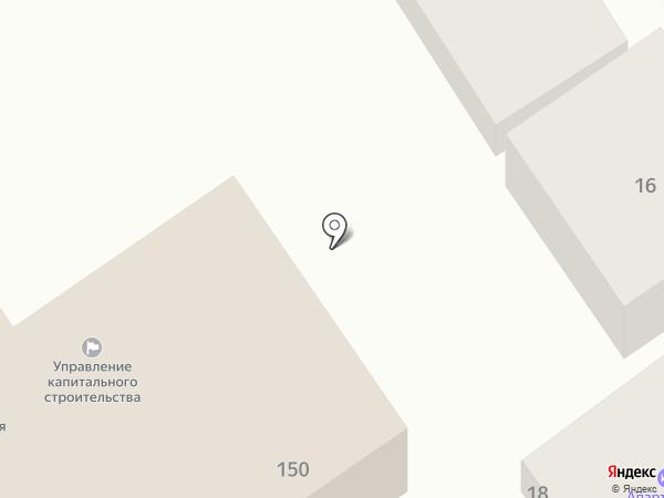На Гребенской на карте Анапы