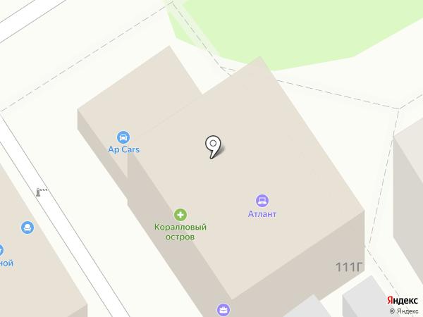 Часстрой на карте Анапы