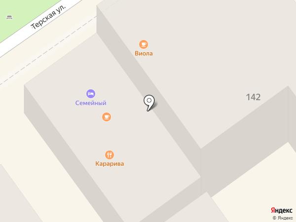 Oliva на карте Анапы