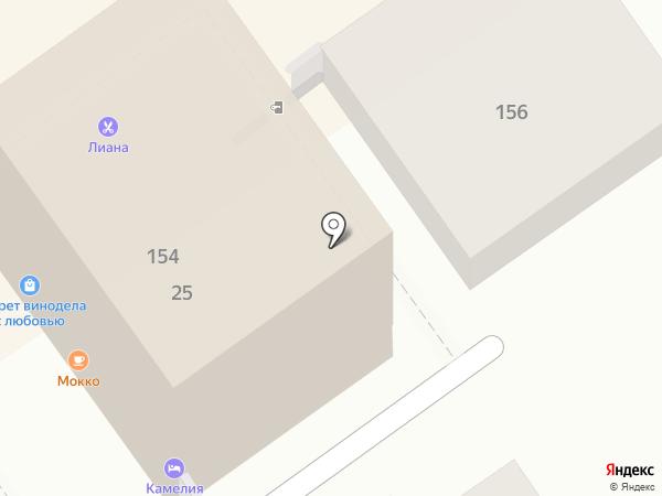 На Приморье на карте Анапы