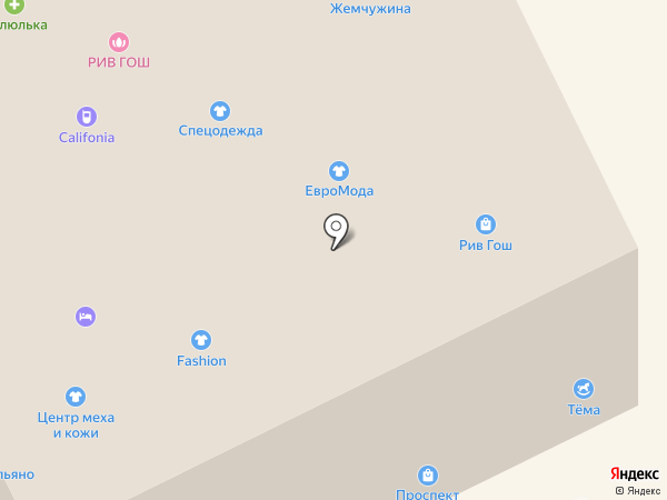 Азов-Шинкар на карте Анапы